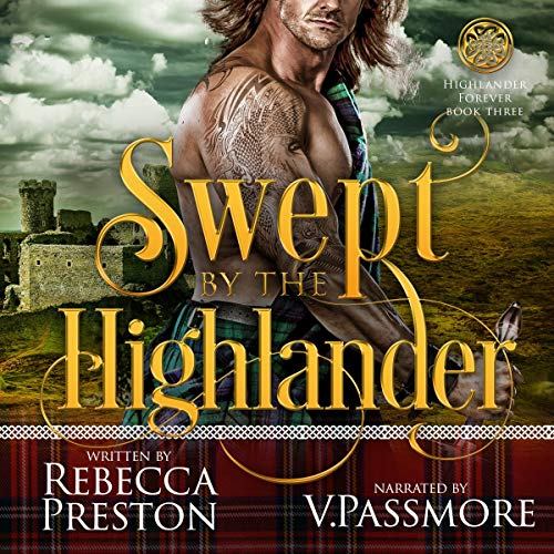 Swept by the Highlander  By  cover art
