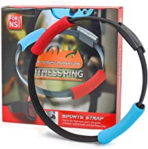 Ring Fit Bundle for Nintendo Switch Adventure Game - Ring Fitness, Elastic Leg Fixing Strap and Ring Con Grip Band in Kit ...