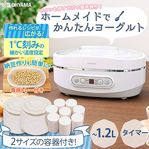 IRISOHYAMA(アイリスオーヤマ)『ヨーグルトメーカー(PYG-10PN)』