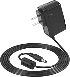 HENGYI 9V Power Supply Adapter With Anti-Jamming Magnetic Ring For Casio Keyboard AD-5 AD-5MU CTK-500 CTK-573 CTK-720 CT-700 LK-150 WK-200 CA-100 Power Cord, CTK CT LK MT HT WK MA Series Charger