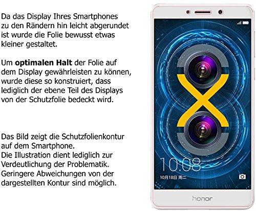 dipos I 6X Schutzfolie matt kompatibel mit Honor 6X Folie Displayschutzfolie - 6