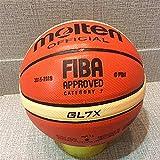 Warm Pebble Paralelo Baloncesto-Tan, de Microfibra de Cuero de Vaca Cubierta y al Aire Libre de la Bola, de 7 cm, tamaño 7
