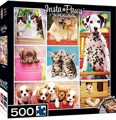 wholesape barato MasterPieces MasterPieces MasterPieces InstaPaws Collection Baby Besties Puzzle (500 Piece) by MasterPieces  muy popular