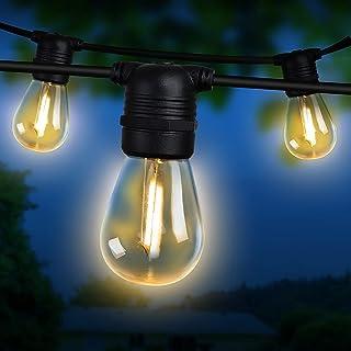 Festoon String Lights 77M 80 Bulbs Waterproof Outdoor Decorative Lights Decoration Jingle Jollys Christmas Holiday Party W...