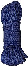 Navy Blue Jute Rope - 4MM(49 Feet) for DIY Crafts, Festive Decoration, Gardening