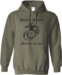 green marine corps sweatshirt