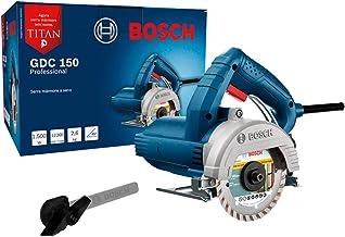 Serra Mármore Bosch a seco GDC 150 TITAN 1500W 220V