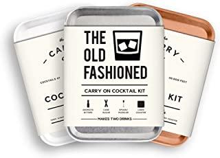 The Carry on Cocktail Kit Old Fashioned, Moscow Mule, Gin and Tonic - 3 PACK Holiday Set - 1 Carry on Cocktail Kit Old Fashioned - 1 Carry on Cocktail Moscow Mule - 1 Carry on Cocktail Gin and Tonic