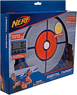 Nerf Elite Digital Target Toy Accessory, Dark Blue, Orange, Light Grey