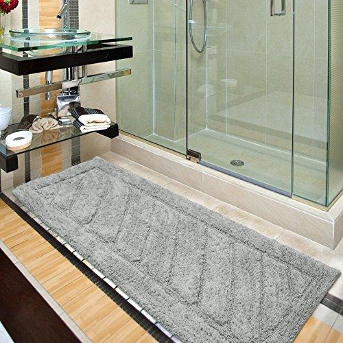 Ottomanson Ruby Collection 100% Pure Cotton Luxury Bath Rug, 20