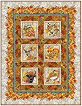 Our Autumn Friends Quilt Pattern 55in x 71in by Jason Yenter~ in The Beginning Fabrics