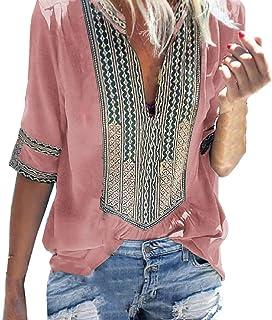 rivenditore di vendita 161d4 3b33f Amazon.it: Etnico - Bluse e camicie / T-shirt, top e bluse ...