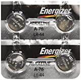 Energizer LR44 1.5V Button Cell Battery (4-Pack)