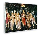 Giallobus - Quadro - Stampa su Tela Canvas - Sandro Botticelli - La Primavera - 100 X 140 Cm