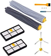 7 PCS Accessories for iRobot Roomba 800 & 900 Series Vacuum Cleaner Replenishment Part Kit - Includes 1 Pair Debris Rollers 2 Filters 2 Side Brushes and 1 Free Cleaning Brush by DoubleSun