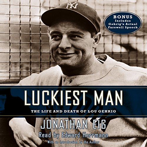 Luckiest Man audiobook cover art