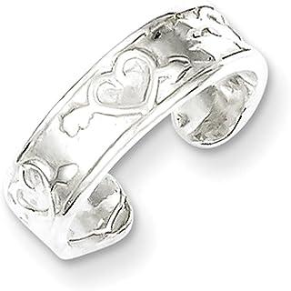 Lex & Lu Sterling Silver Toe Ring LAL24424