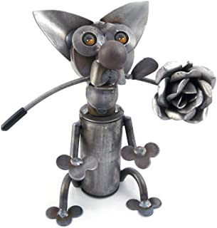 Best recycled metal dog sculpture Reviews