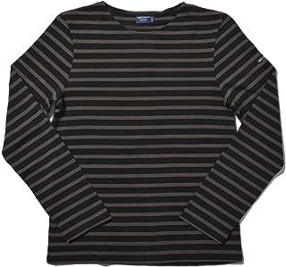[セントジェームス] 長袖Tシャツ メリディアン モダン 6870 メンズ レディース 08.ノワール×トープ S [並行輸入品]