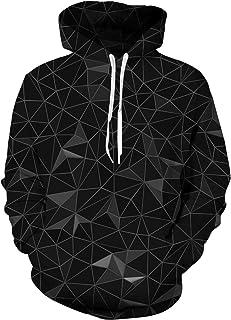 Hoodie Hombre Funny 3D Sudaderas con Capucha Unisex Pullover Manga Larga Sweater Hoody con Bolsillos Cordón M-XXL