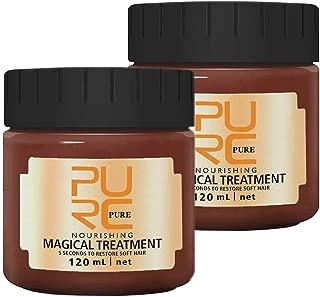 2PCS PURC 120ml Magical Treatment Mask Repairs Damage Restore Soft Hair Care 5 Seconds Repairs Damage Hair Root