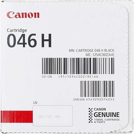 Canon Toner Cartridge 046h Bk Schwarz Hohe Reichweite Bürobedarf Schreibwaren