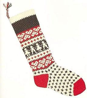 Christmas Stocking Kit w/Children - Candide Yarn 100% Wool