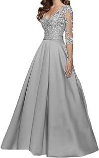 Suchergebnis Auf Amazon De Fur Lange Abendkleider Silber Bekleidung