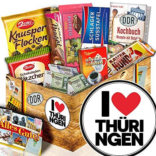 I Love Thüringen - Thüringen Geschenk - Präsentkorb Schokolade DDR