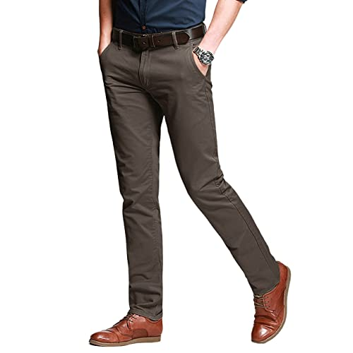 54836fd9cb2 Match Men s Slim Tapered Stretchy Casual Pant