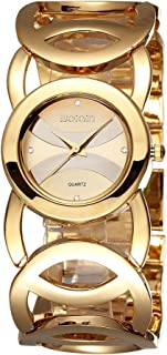 Women's Watches Luxury Crystal Quartz Gold Watches Woman Fashion Bracelet Watch