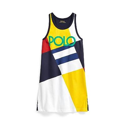 Polo Ralph Lauren Kids Logo Cotton Jersey Tank Dress (Toddler)