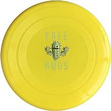 EVALY Free Hug Cartoon Cactus 150 Gram Ultimate Sport Disc Frisbee Yellow