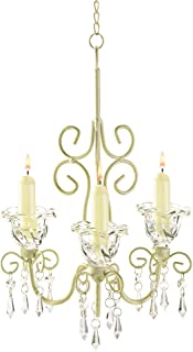 Gifts & Decor Shabby Elegance Scrollwork Candleholder Chic Decor