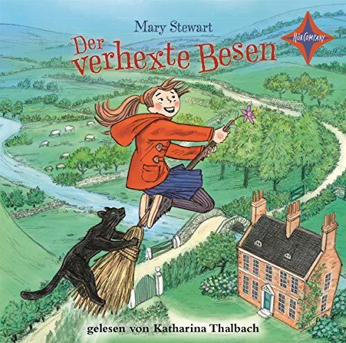 Der verhexte Besen: Aus dem Englischen von Henning Ahrens, gelesen von Katharina Thalbach, 3 CDs, ca. 6 Std.
