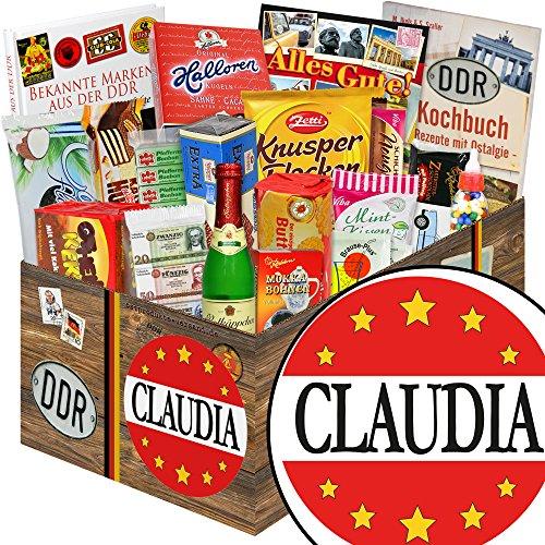 Claudia / Süße Ostbox mit Halloren, Zetti uvm. / Claudia Geschenk Namenstag