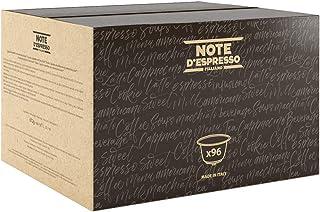 Note D'Espresso Cápsulas de Café Arábica Exclusivamente