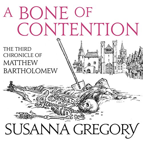 A Bone of Contention audiobook cover art