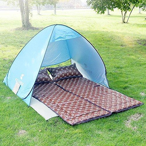 YZY Outdoor Tent + Slapende Mat Auto Vouwen Matrassen Reizen Bed Camping Auto Bed Slaapbed Zelfrijdende Reizen