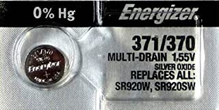 Energizer BUTTON CELL BATTERY 371-370TS OXIDE