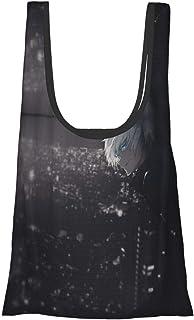 咒术回战 五条悟 (23) 环保袋 折叠 时尚 购物袋 便利店包 人气 大容量 实用 防水 可爱 肩背 轻便 可洗 购物袋