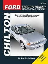 Ford Escort & Mercury Tracer 1991-2002 (Chilton's Total Car Care)