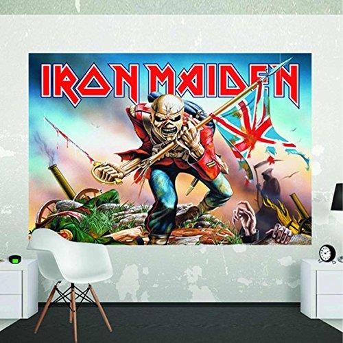 Iron Maiden–la Trooper oficial–Giant Póster Mural de pared–(2.32m X 1,58m)