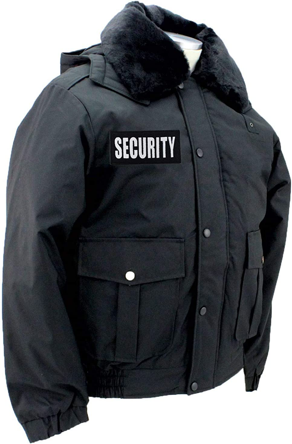 First Class All Season Deluxe Bomber Jacket with Reflective Security ID
