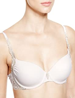Brand New Ex M/&S Smoothlines Padded Underwired Full Cup Bra Sizes 34-36-38 A-E