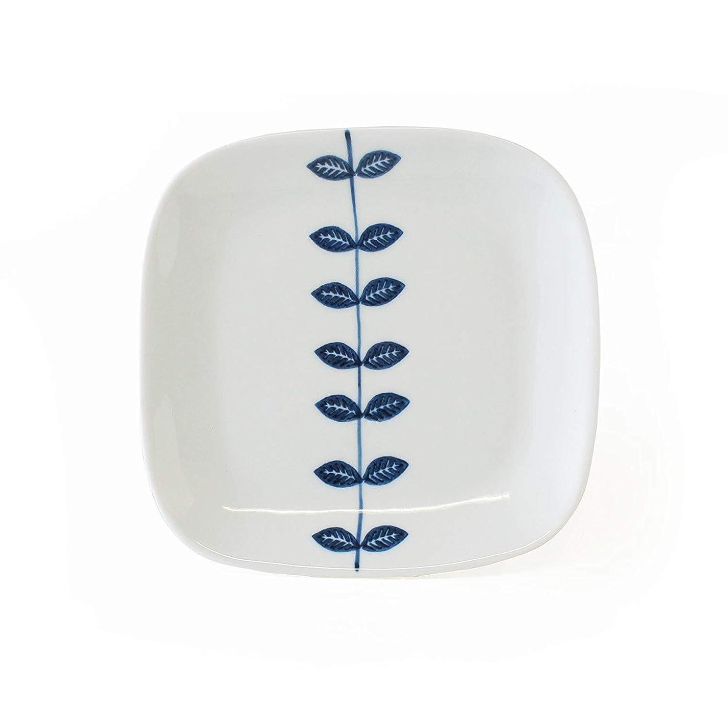 ハンディキャップ学んだあまりにもCtoC JAPAN Select 一人暮らし 食器 取り皿 双葉つなぎ マルチ W xD 15cm xH 1.5cm 日本製