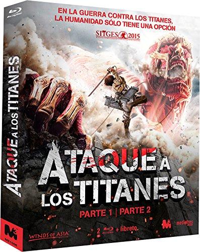 Ataque a los Titanes - Parte 1 y 2 [Blu-ray]