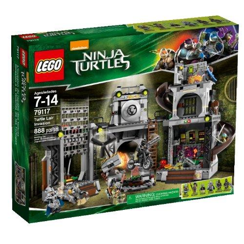 LEGO Teenage Mutant Ninja Tartarughe Lair Invasion - 79117.