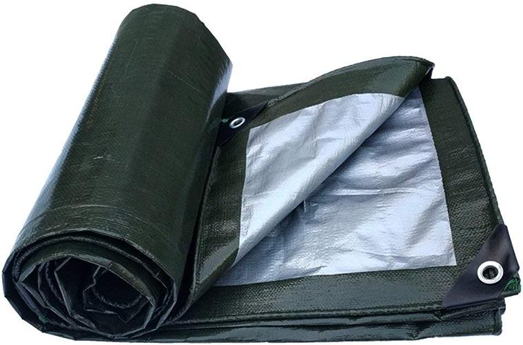 Bache de prougeection pratique tente extérieure bache épaisse logistique imperméable à l'eau imperméable à l'eau de pluie de construction de camion de tissu en plastique coupe-vent à haute température a