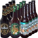Selección de Cervezas Artesanas Fuertes Sevebrau 4 Serona Strong, 4 Ex Ipa Seveboris, 4 20/20 Barrica